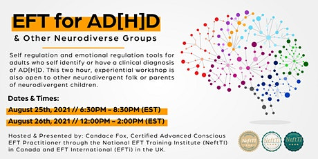 EFT for AD[H]D & Other Neurodiverse Groups tickets