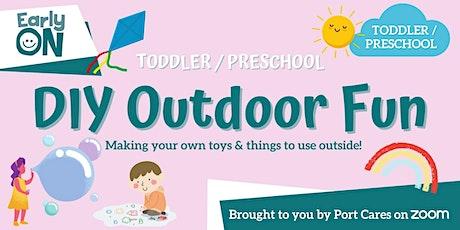 Toddler/Preschool DIY Outdoor Fun - Bubble Painting tickets