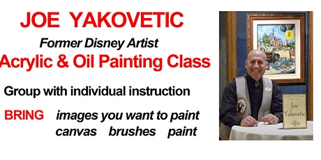 Acrylic Painting For All Levels with Joe Yakovetic tickets