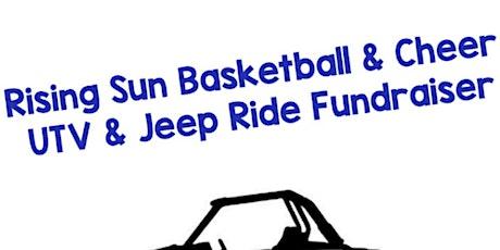 Rising Sun Cheerleading and Basketball UTV/Jeep Ride Fundraiser tickets