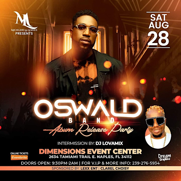 Oswald Album Release Party image