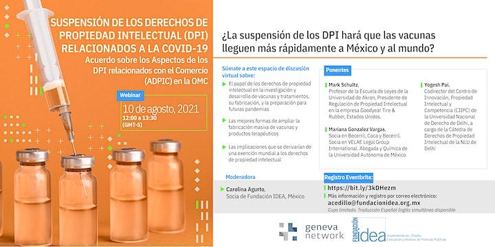 <br /> Webinar: TRIPS  negotiation in the WTO | Negociación de los ADPIC en OMC image<br />