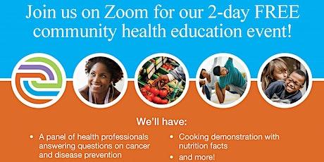 Virtual Smart Health 2021 Community Education Event tickets
