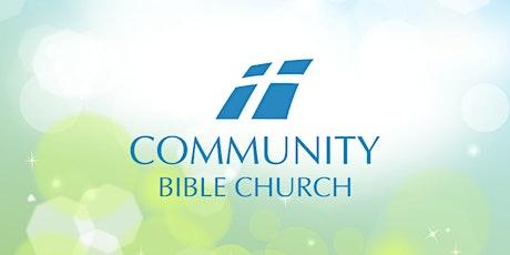 July 25, 2021- Sunday Service Registration tickets