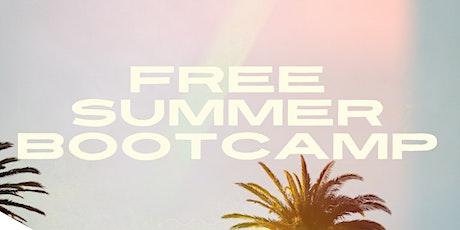 Free Summer Bootcamp tickets