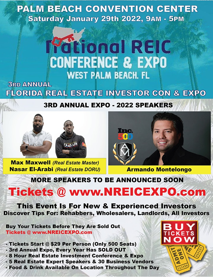 Annual Real Estate Investor Conference & Expo image