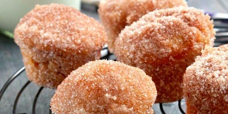 Virtual Baking Workshop: Apple Cider Donut Muffins tickets
