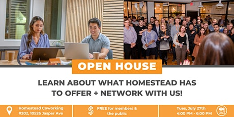 Homestead Coworking Open House tickets
