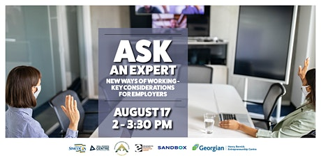 Ask An Expert: New Ways of Working -Key Considerations for Employers Tickets
