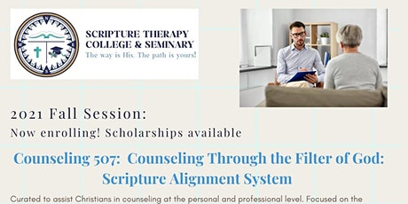 """""""Christian Counseling: Counseling through the Filter of God"""" tickets"""