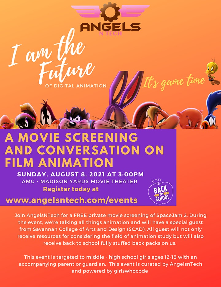 A Movie Screening and Conversation on Digital Animation image