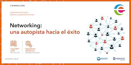 Capacitación Online  | Networking: una autopista hacia el éxito boletos