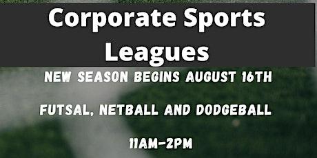 Corporate Dodgeball League tickets