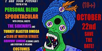 Personal Blend w/ The Sideways, Turkey Blaster Omega