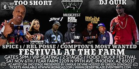 Desert Blaze Ft Too $hort /  DJ Quik / CMW / RBL Posse / Spice 1 tickets