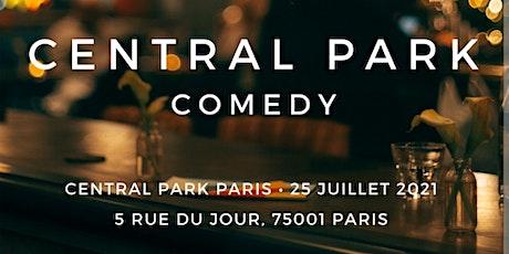 Central Park Comedy billets