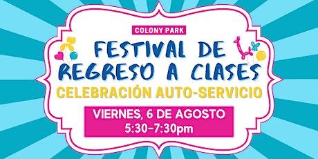 Festival de Regreso a Clases tickets