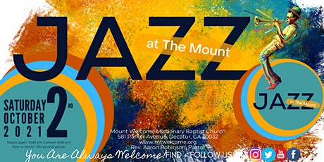 2021 Jazz at The Mount tickets