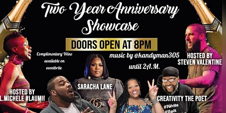 Rock The Mic All Arts Two Year Anniversary Showcase tickets