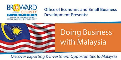 Doing Business with Malaysia tickets