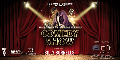 Ice Cold Comics Presents Billy Sorrells tickets