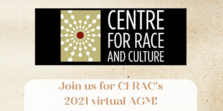 CFRAC 2021 Annual General Meeting tickets
