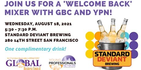 """""""Welcome Back"""" Mixer with GBC and YPN! tickets"""