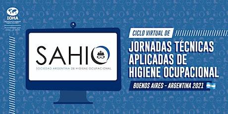 JORNADAS TECNICAS APLICADAS DE HIGIENE OCUPACIONAL tickets