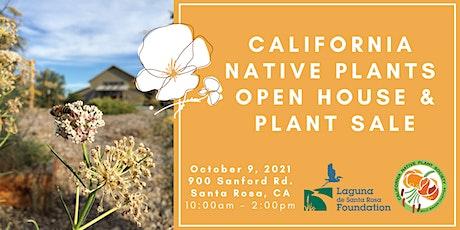 California Native Plants Open House & Garden Walk tickets