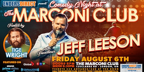 Comedy Night at The Marconi Club tickets