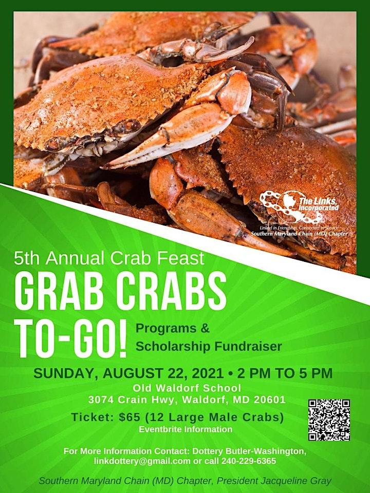 5th Annual Crab Feast (Grab & Go) image