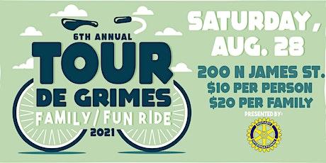 6th Annual Tour de Grimes | Mayor's Bike-Ride tickets