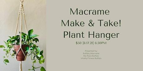 Macrame Make & Take tickets
