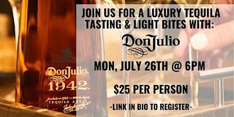Don Julio Tequila Tasting at Estefani's Restaurant tickets