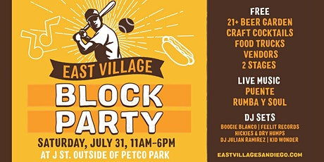 East Village Block Party tickets