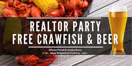 REALTOR® Party! Free Event & Crawfish!! tickets