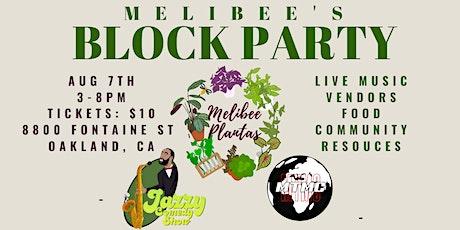 MELIBEE BLOCK PARTY tickets