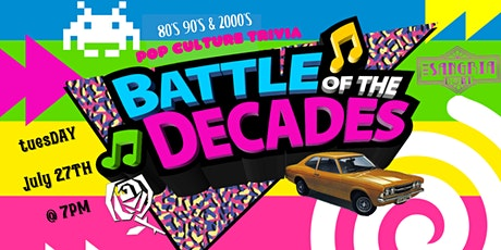 Battle of the Decades: Pop Culture Trivia at The Sangria Bowl tickets