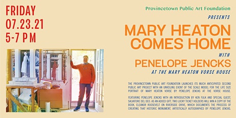 EVENT POSTPONED for COVID - NEW DATE TO BE ANNOUNCED Mary Heaton Comes Home tickets