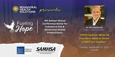 FHS4 - HIPPA Update:  What All Providers Need to Know (CARES Act Update) tickets