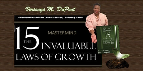 Mastermind: 15 Invaluable Laws of Growth tickets