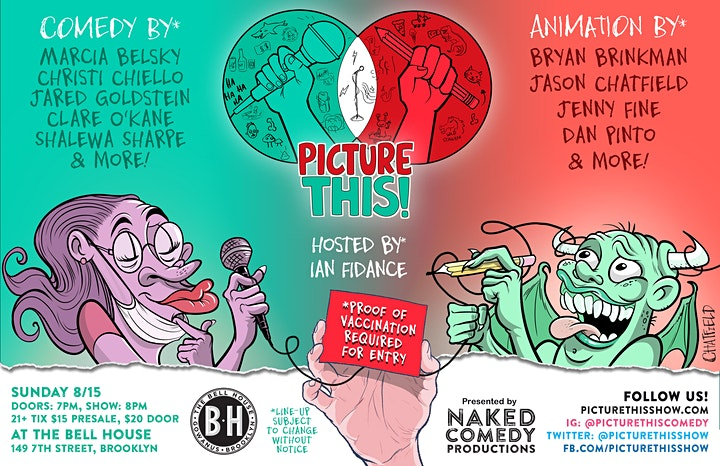 Picture This!: Live Animated Comedy image