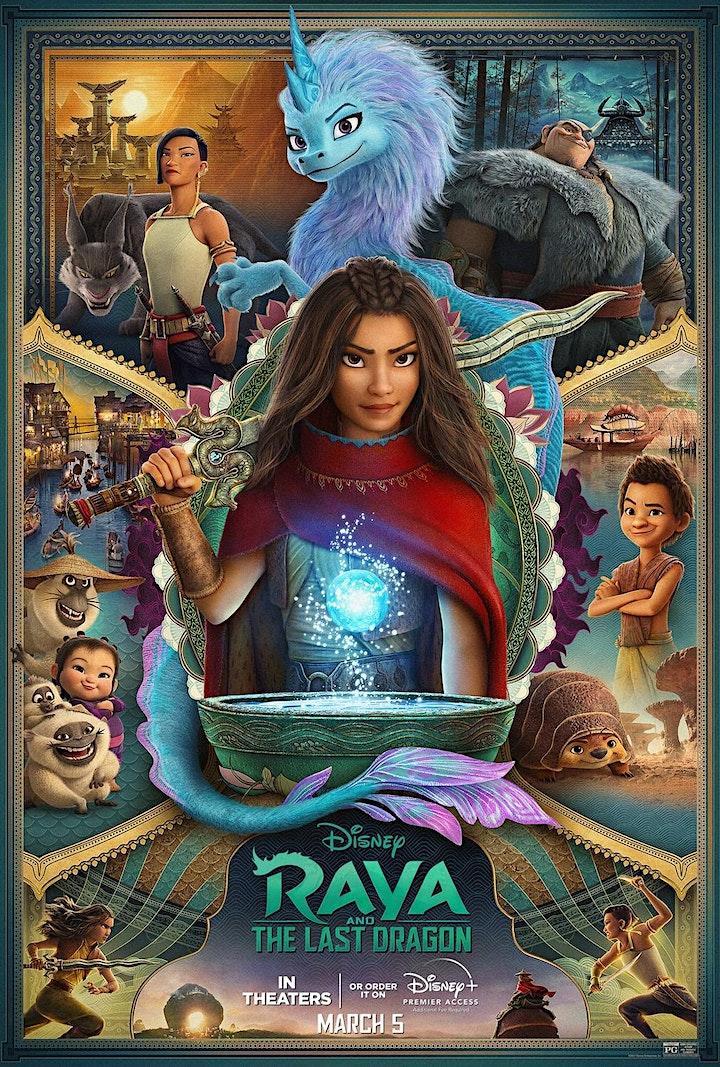 CCCU: Sunset Cinema (Drive In): Raya and Last Dragon 08/03 - PORT ALBERNI image