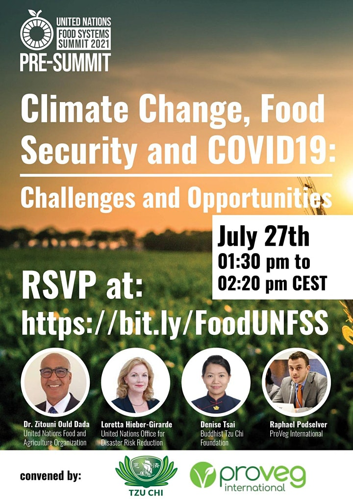 Covid-19, Climate Change, and Food Security - Challenges and Opportunities image