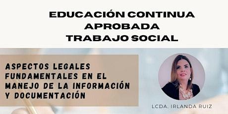 Aspectos legales fundamentales en el manejo de la información y documentaci boletos