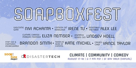 Soapbox Fest Bay Area: Climate, Community, & Comedy tickets