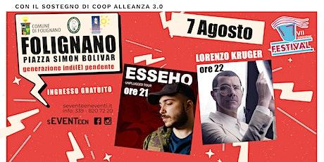LORENZO KRUGER + ESSEHO   in concerto biglietti