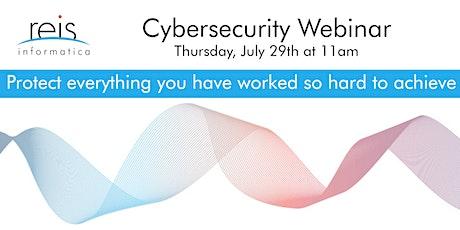 Join Reis Informatica for a Cybersecurity Webinar tickets