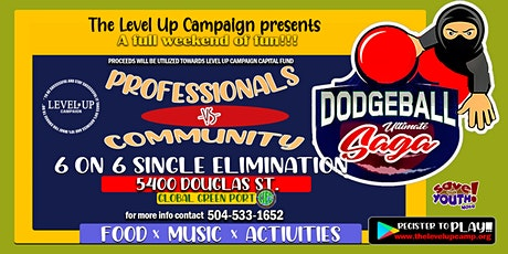 6 on 6 Community Vs Professionals Dodgeball Saga tickets