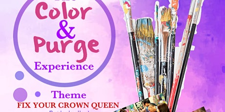 The Color & Purge Experience tickets